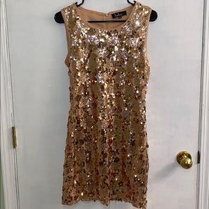 Lulus Sequin Bodycon Dress